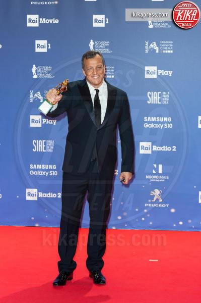 Gabriele Muccino - Roma - 27-03-2019 - David 2019: il volo della gonna di Taylor Mega sul red carpet