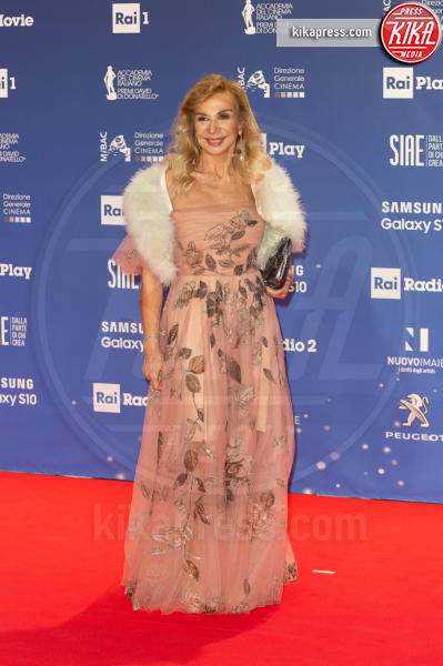 Francesca Lo Schiavo - Roma - 27-03-2019 - David 2019: il volo della gonna di Taylor Mega sul red carpet