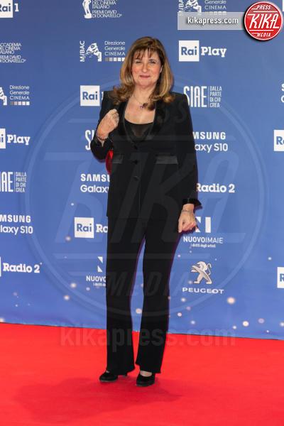 Teresa De Santis - Roma - 27-03-2019 - David 2019: il volo della gonna di Taylor Mega sul red carpet