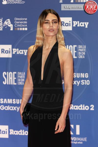 Melissa Greta Marchetto - Roma - 27-03-2019 - David 2019: il volo della gonna di Taylor Mega sul red carpet