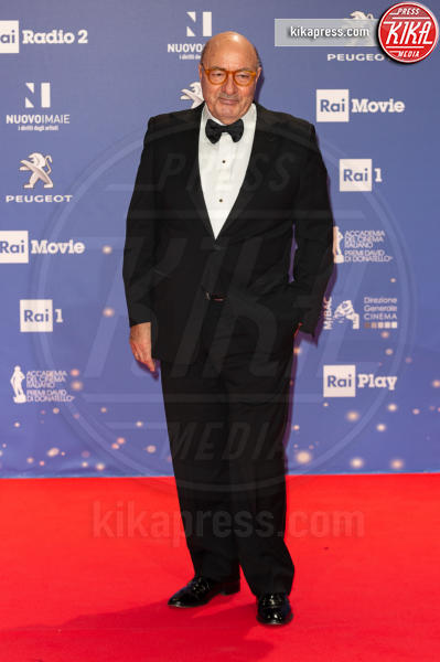 Dante Ferretti - Roma - 27-03-2019 - David 2019: il volo della gonna di Taylor Mega sul red carpet