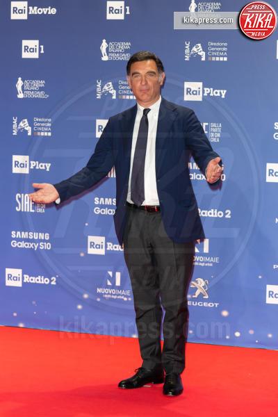 Tiberio Timperi - Roma - 27-03-2019 - David 2019: il volo della gonna di Taylor Mega sul red carpet
