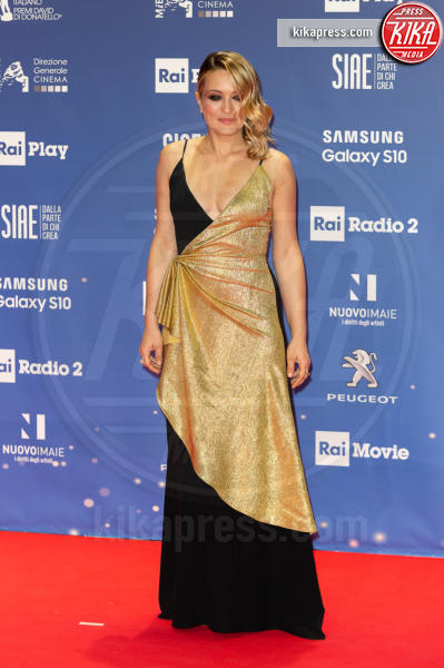 Carolina Crescentini - Roma - 27-03-2019 - David di Donatello 2019: gli stilisti sul red carpet