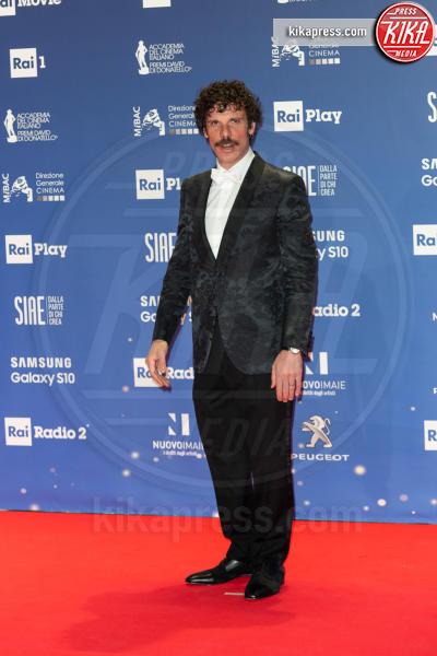 Francesco Montanari - Roma - 27-03-2019 - David 2019: il volo della gonna di Taylor Mega sul red carpet