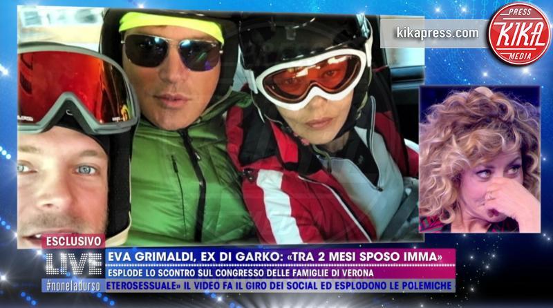 Gabriele Rossi, Gabriel Garko, Eva Grimaldi - 28-03-2019 - Addio 2019: gli scandali che ci hanno lasciato a bocca aperta