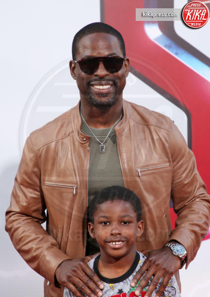Andrew Brown, Sterling K. Brown - Hollywood - 29-03-2019 - Shazam!: le immagini della premiére di Los Angeles