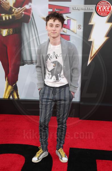 Wyatt Oleff - Hollywood - 29-03-2019 - Shazam!: le immagini della premiére di Los Angeles