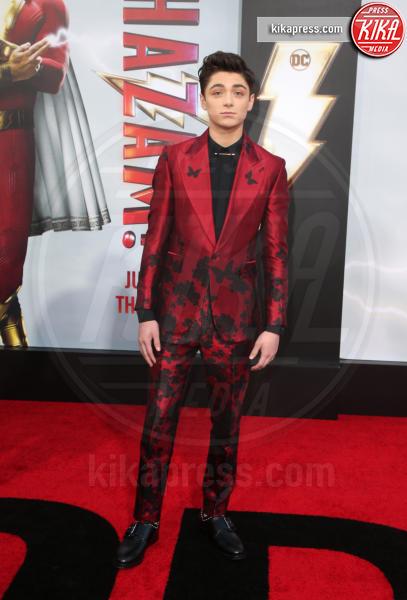 Asher Angel - Hollywood - 29-03-2019 - Shazam!: le immagini della premiére di Los Angeles