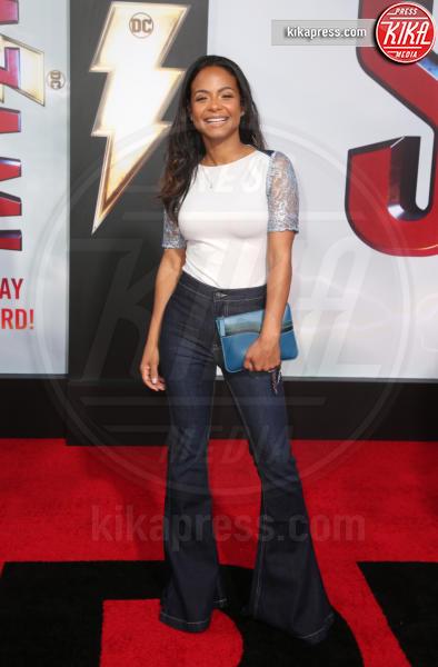 Christina Milian - Hollywood - 29-03-2019 - Shazam!: le immagini della premiére di Los Angeles