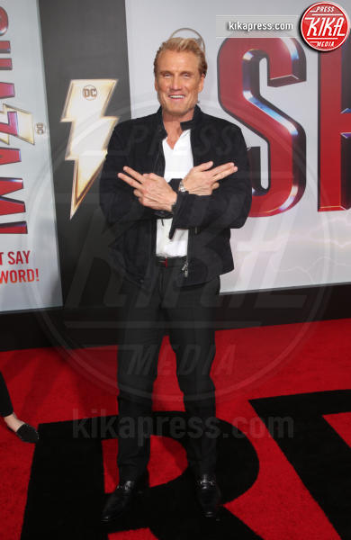 Dolph Lundgren - Hollywood - 29-03-2019 - Shazam!: le immagini della premiére di Los Angeles