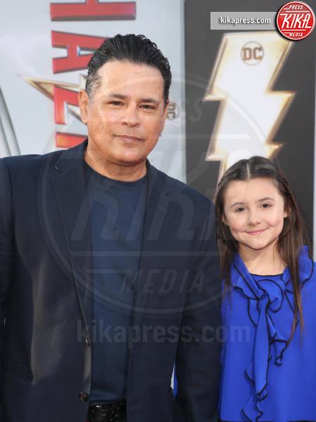 Niece, Raymond Cruz - Hollywood - 29-03-2019 - Shazam!: le immagini della premiére di Los Angeles