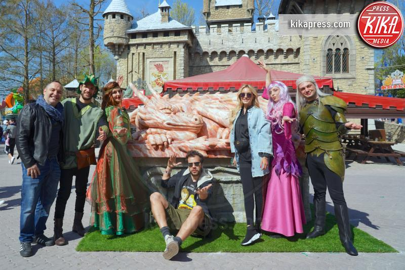 Gianluca Fubelli, Elena Morali - Gardaland - 30-03-2019 - Gardaland: le star si immergono nel Year of Magic