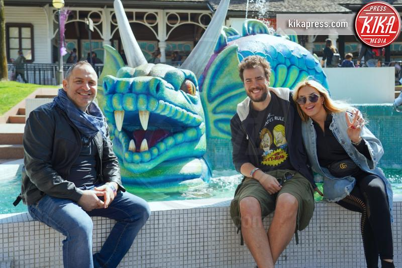 Andrea Pisani, Gianluca Fubelli, Elena Morali - Gardaland - 30-03-2019 - Gardaland: le star si immergono nel Year of Magic