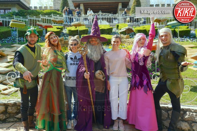 Francesca Dallape, Tania Cagnotto - Gardaland - 30-03-2019 - Gardaland: le star si immergono nel Year of Magic