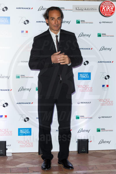 Alexandre Desplat - Roma - 03-04-2019 - Parte il Rendez-Vous 2019, la parata di vip sul red carpet