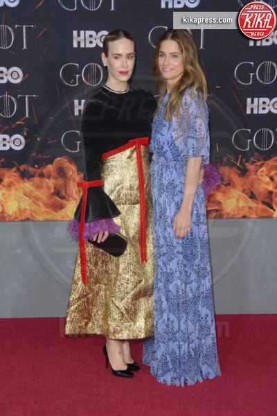 Sarah Paulson, Amanda Peet - New York - 04-04-2019 - Meghan Markle e Amanda Peet, chi lo indossa meglio?