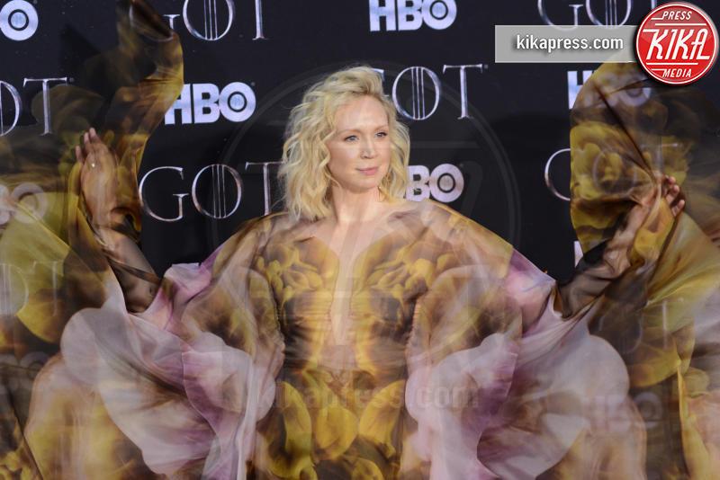 Gwendoline Christie - New York - 04-04-2019 - Il Trono di Spade:tutti presenti all'ultima premiere di New York