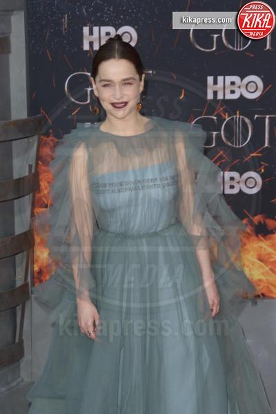 Emilia Clarke - New York - 04-04-2019 - Il Trono di Spade:tutti presenti all'ultima premiere di New York