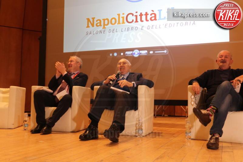Francesco Pinto, Pippo Baudo - Napoli - 04-04-2019 - Pippo Baudo diventa scrittore e apre Napoli Città Libro