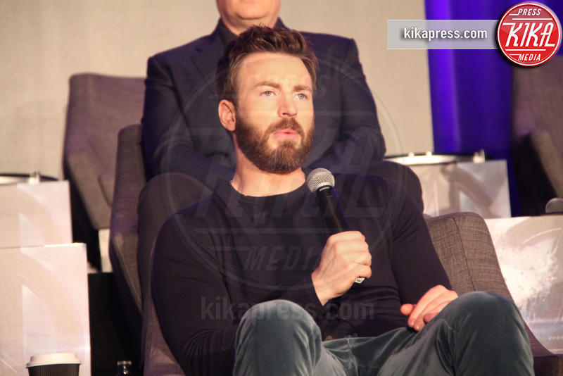 Chris Evans - Hollywood - 07-04-2019 - Avengers: Endgame, la conferenza stampa coi protagonisti