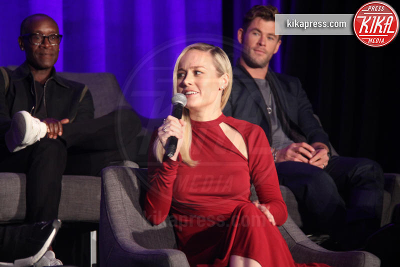 Chris Hemsworth, Brie Larson - Hollywood - 07-04-2019 - Avengers: Endgame, la conferenza stampa coi protagonisti