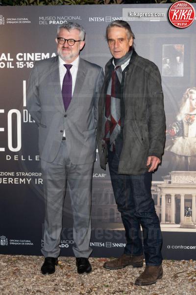 Miguel Falomir, Jeremy Irons - Roma - 09-04-2019 - Jeremy Irons a Roma per i 200 anni del Museo del Prado