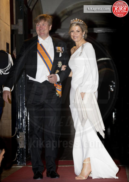 Regina Maxima d'Olanda, Re Willem-Alexander d'Olanda - Amsterdam - 09-04-2019 - Maxima d'Olanda e Kate Hudson, chi lo indossa meglio?