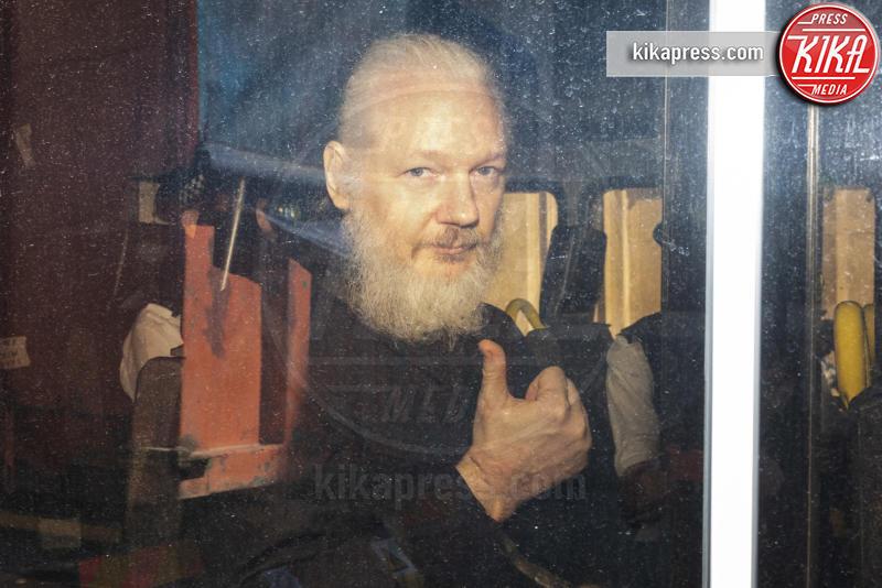Julian Assange - Londra - 11-04-2019 - Addio 2019, le immagini simbolo dell'anno