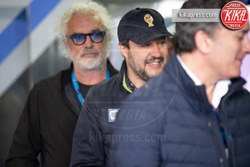 Campionato di Formula E ROma, Matteo Salvini, Flavio Briatore - Roma - 13-04-2019 - Briatore vs Ferragni: