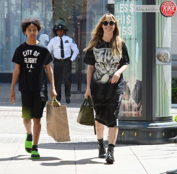Heidi Klum - Los Angeles - 14-04-2019 - Heidi Klum, dalle passerelle allo shopping coi figli è un attimo