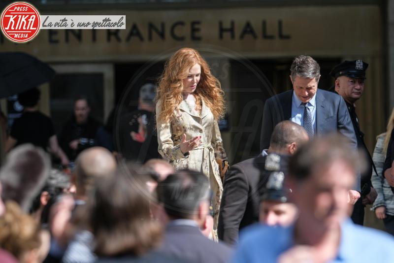 Hugh Grant, Nicole Kidman - Manhattan - 13-04-2019 - Nicole Kidman-Huge Grant sono una coppia, ma solo sul set!