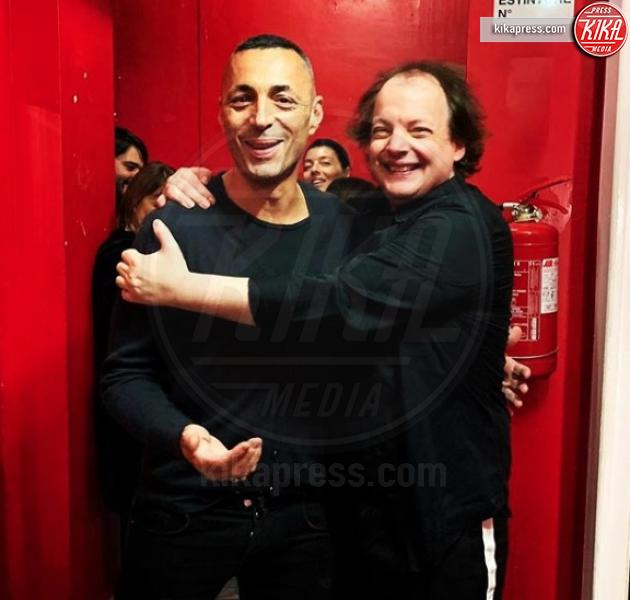 Dado, Alex Britti - Milano - Il comico Dado: