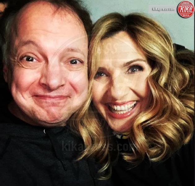 Dado, Lorella Cuccarini - Milano - Il comico Dado: