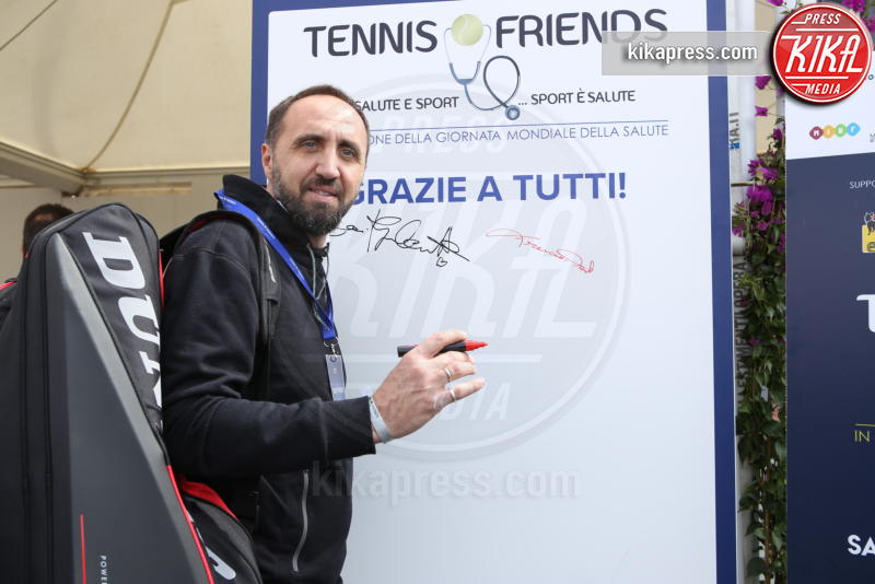 Diego Nargiso - Napoli - 13-04-2019 - Paolo Bonolis e Jimmy Ghione trionfano a Napoli Tennis & Friends