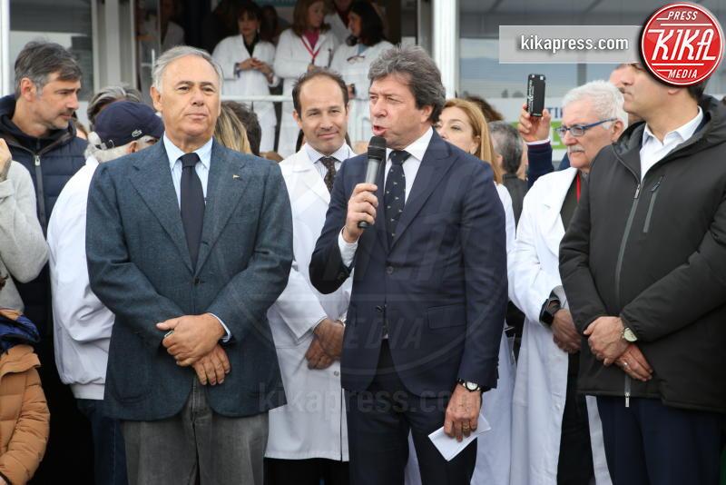Giorgio Meneschincheri - Napoli - 13-04-2019 - Paolo Bonolis e Jimmy Ghione trionfano a Napoli Tennis & Friends
