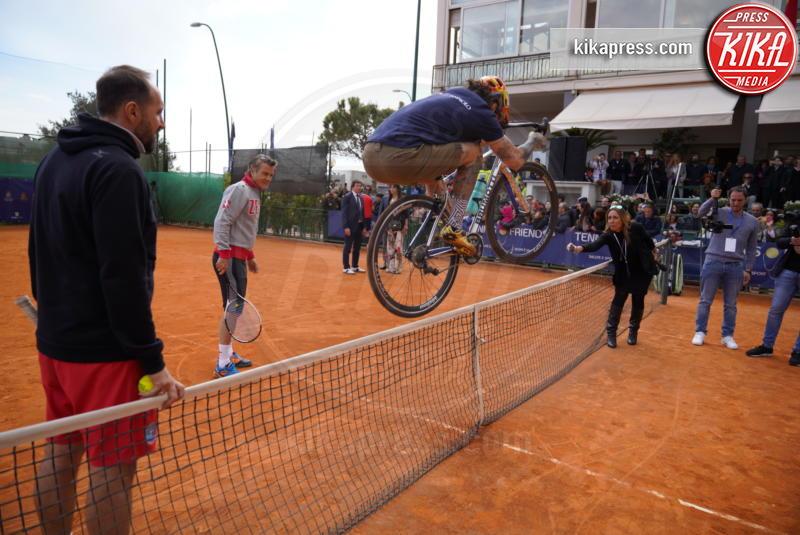 Vittorio Brumotti - Napoli - 13-04-2019 - Paolo Bonolis e Jimmy Ghione trionfano a Napoli Tennis & Friends