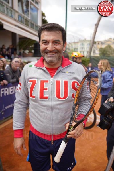 Max Giusti - Napoli - 13-04-2019 - Paolo Bonolis e Jimmy Ghione trionfano a Napoli Tennis & Friends