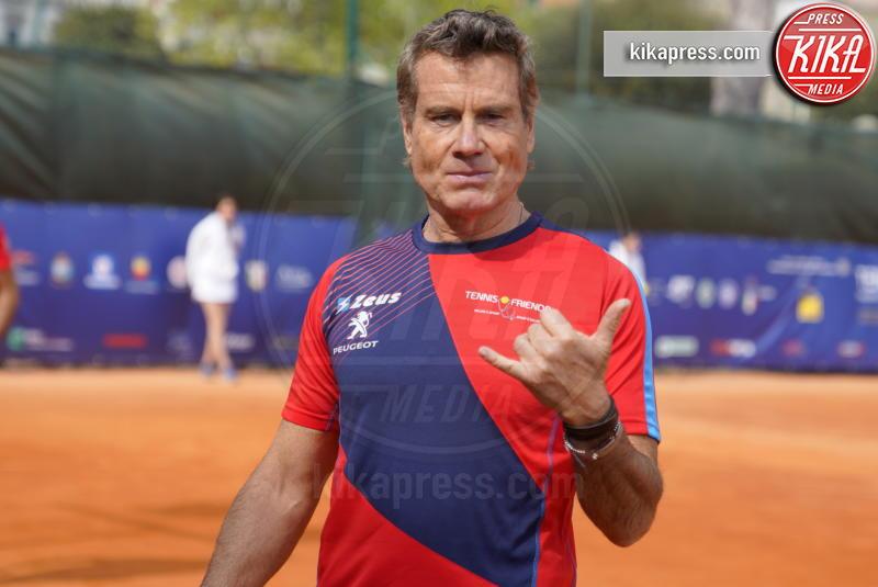 Jimmy Ghione - Napoli - 13-04-2019 - Paolo Bonolis e Jimmy Ghione trionfano a Napoli Tennis & Friends