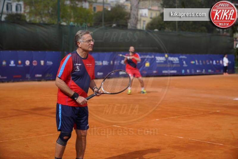 Paolo Bonolis - Napoli - 13-04-2019 - Paolo Bonolis e Jimmy Ghione trionfano a Napoli Tennis & Friends