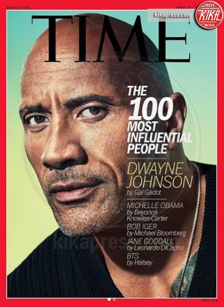 Dwayne Johnson - Los Angeles - Time 2019, la classifica delle star più influenti