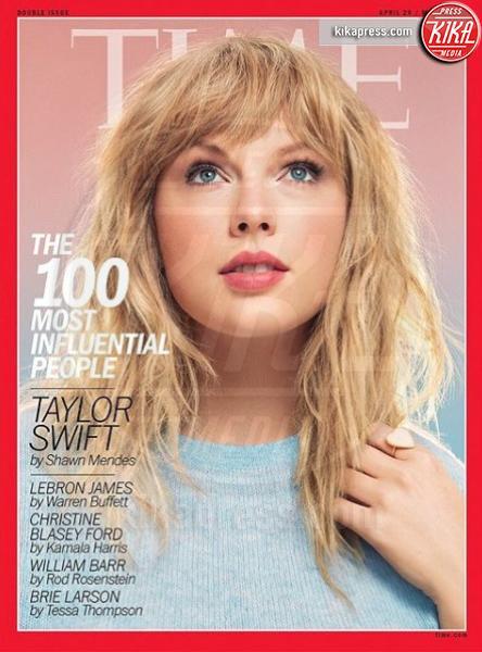 Taylor Swift - Los Angeles - Time 2019, la classifica delle star più influenti