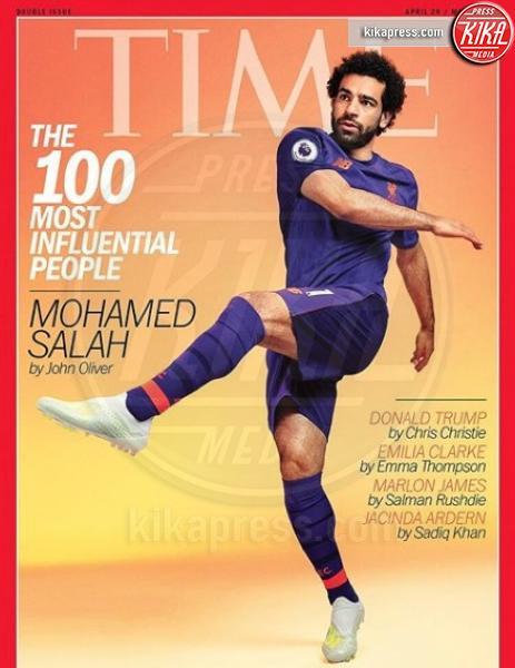 Mohamed Salah - Los Angeles - Time 2019, la classifica delle star più influenti
