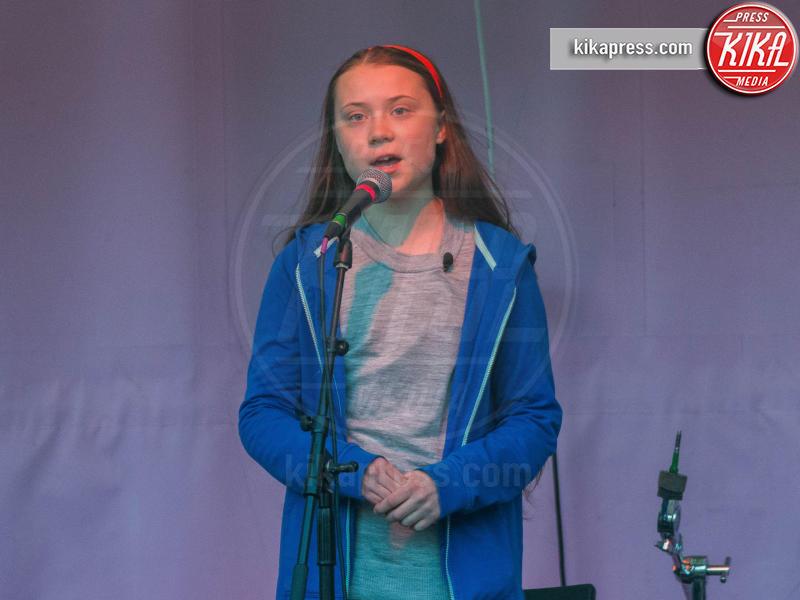 Greta Thunberg - Londra - 21-04-2019 - Time: Greta Thunberg è la Persona dell'anno