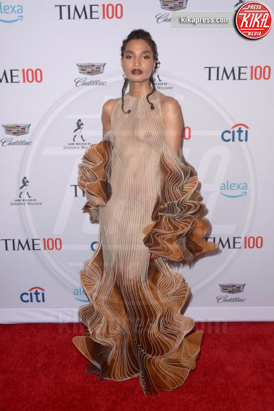 Indya Moore - New York - 24-04-2019 - TIME 100 Gala 2019: Naomi Campbell esalta l'Italia