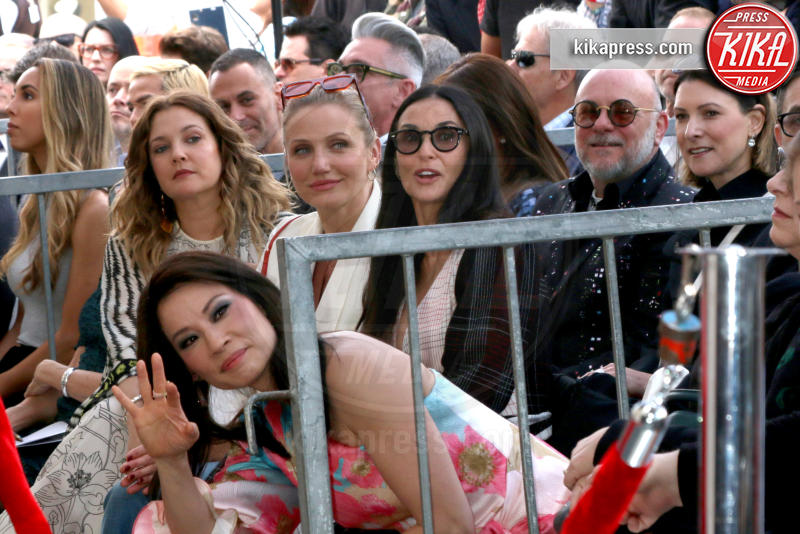 Demi Moore, Drew Barrymore, Lucy Liu, Cameron Diaz - Los Angeles - 01-05-2019 - Lucy Liu sulla Walk of Fame...con le ex Charlie's Angels