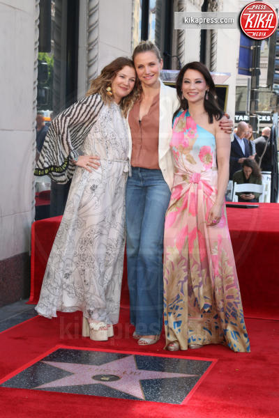 Drew Barrymore, Lucy Liu, Cameron Diaz - Los Angeles - 01-05-2019 - Lucy Liu sulla Walk of Fame...con le ex Charlie's Angels