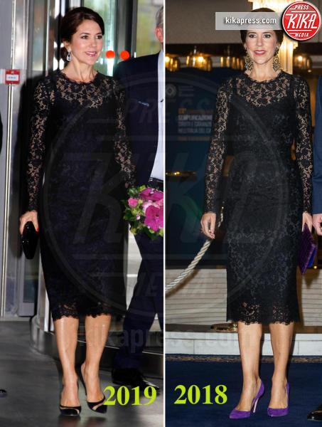 Principessa Mary di Danimarca - 03-05-2019 - Mary di Danimarca, l'elegante riciclo firmato Dolce & Gabbana
