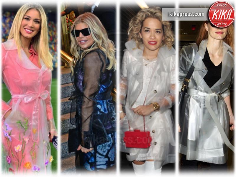 Diletta Leotta, Rita Ora, Jessica Chastain, Fergie - 06-05-2019 - Diletta e le altre: trench trasparente, chi lo indossa meglio?