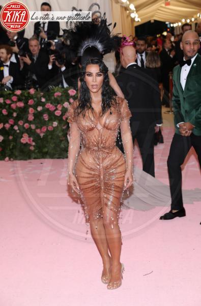 Kim Kardashian - New York - 07-05-2019 - Met Gala 2019: Katy Perry uno chandelier, Dua Lipa una farfalla