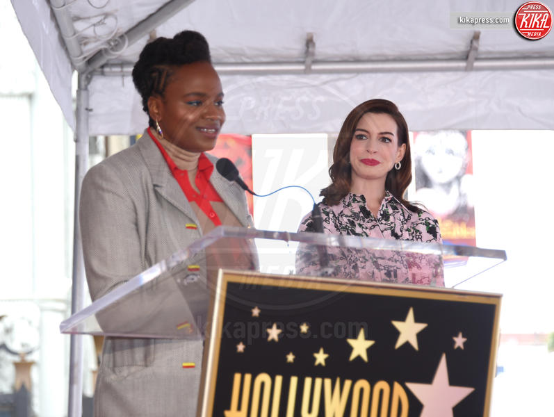 Dee Rees, Anne Hathaway - Hollywood - 09-05-2019 - Anne Hathaway, la stella più bella sulla Walk of Fame